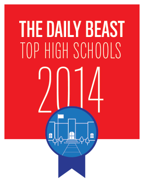 New Hartford High School ranked 56th in the nation according to the Daily Beast!